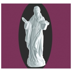 Sacré coeur du Christ 36cm
