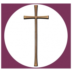 Croix rayée