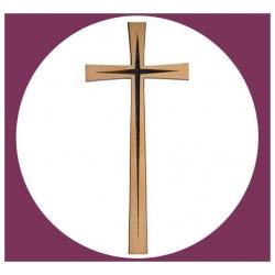Croix plate 40cm