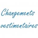 Changements vestimentaires